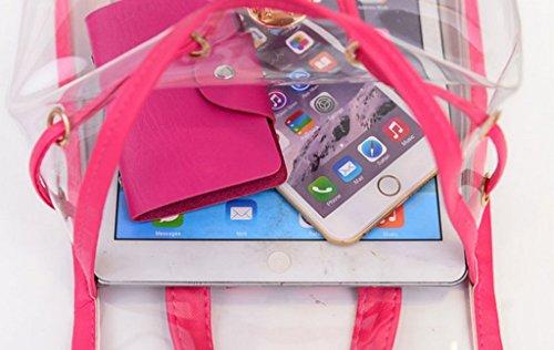Drasawee , Damen Rucksackhandtasche Pink rose Einheitsgröße violett