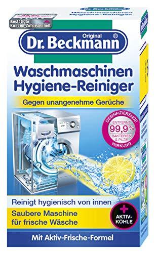 Dr. Beckmann Waschmaschinen Hygiene-Reiniger | Maschinenreiniger mit Aktivkohle (6x 250 g)