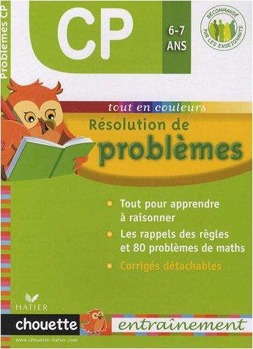 Résolution de problèmes CP 6-7 ans