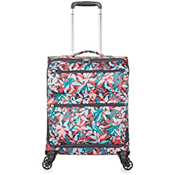 Maleta Revelation Weightless D3J, 4 Wheel Spinner, Cabina, 56 cm - 34 L, Patrón Rojo