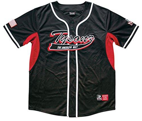 Bequemes Tysonz Kinder Baseball Jerseys Sport Kids T-Shirt Trikot Shirt Outdoor Shirt verschiedene Ausführungen (S (122/128), BBS20) (Baseball Jersey Armee)