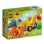 LEGO DuploTown CamioneScavatriceCingolata, Set di Costruzioni Prescolare con Mattoni Grandi, Giocattoli per Bambini dai 2 a 5 Anni, 10812 LEGO