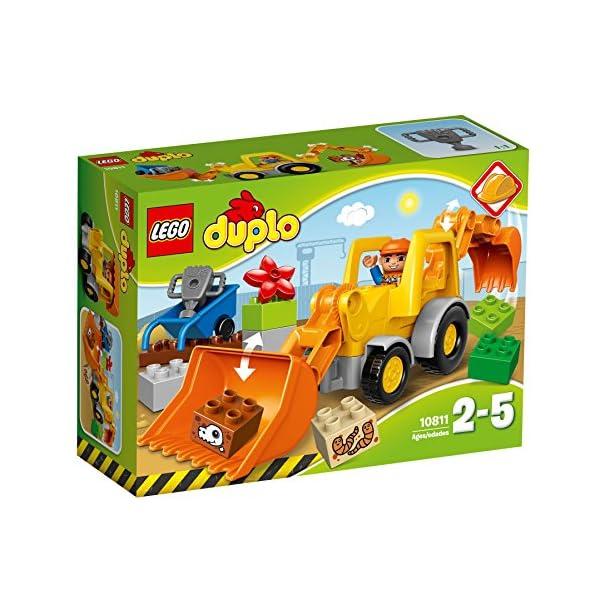 LEGO Duplo Camion e Scavatrice Cingolata con Due Personaggi, Set di Costruzioni per Bambini da 2-5 Anni, Multicolore… 1 spesavip
