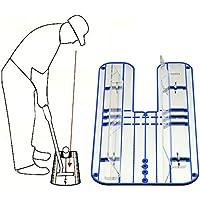 CGBF-Portátil Espejo de Alineación para Putting Golf Putting Espejo Entrenador Ayuda de Entrenamiento para Corrección de Postura Apto para Principiantes de Golf