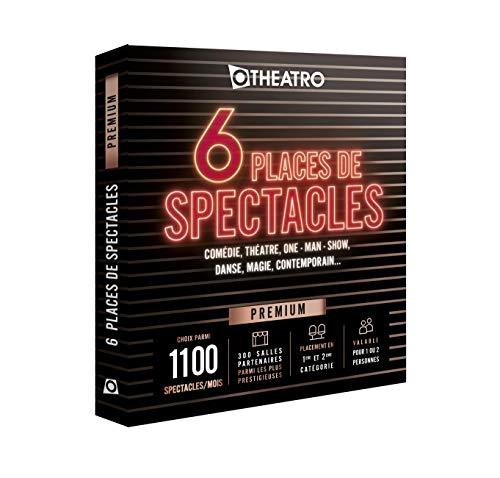 Otheatro Coffret 6 Places de Spectacles Premium – 300 salles Partenaires