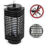 PrimeMatik - Matamoscas eléctrico Lámpara mata insectos voladores y moscas 3 W