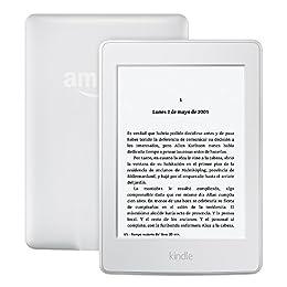 """Kindle Paperwhite - 7.ª generación (modelo anterior), pantalla de 6"""", luz de lectura integrada, wifi (blanco) - incluye ofertas especiales"""