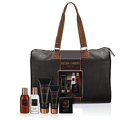 Baylis & Harding Men's Black Pepper and Ginseng Weekend Away Travel Bag Gift Set