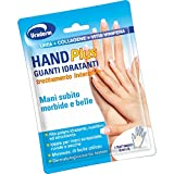 Uraderm hand plus guanti idratanti trattamento intensivo monouso