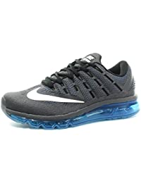 detailed look 0a6a1 0b567 Nike Air MAX, Zapatillas de Running para Hombre, Gris (Dark Grey White