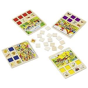 Goki- Juegos de acción y reflejosJuegos de mesaGOKIJuego de imágenes Granja, Circo, Multicolor (1)