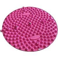 Runde Fußmassager-Therapie-Matten-Fuß-Massage-Auflage Shiatsu-Blatt [Rosa] preisvergleich bei billige-tabletten.eu