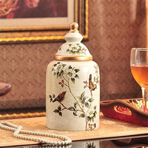 stile americano bollitore rurale ceramiche dipinte caramelle decorazione europea Template tè barattolo di stoccaggio in stile soft installare decorazioni , d , xl