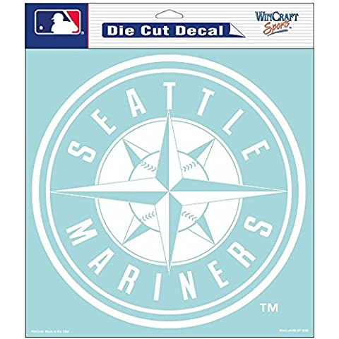 MLB Seattle Mariners Die-Cut Decal, 8