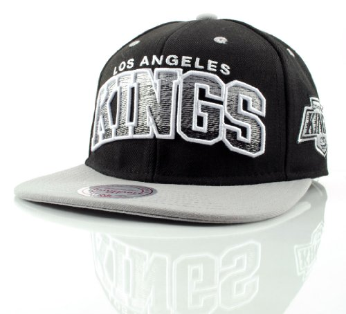 Mitchell & Ness - Casquette Snapback Homme Los Angeles Kings Arch Gradient