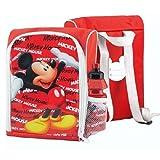 BBS Rucksack & Trinkflasche | Kindergarten Set | Micky Maus | Mickey Mouse