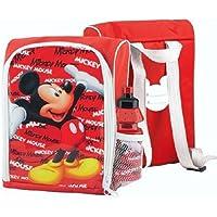 Topolino Mickey Mouse - Bambini zaino pranzo al sacco & Bottle - Mouse Pranzo