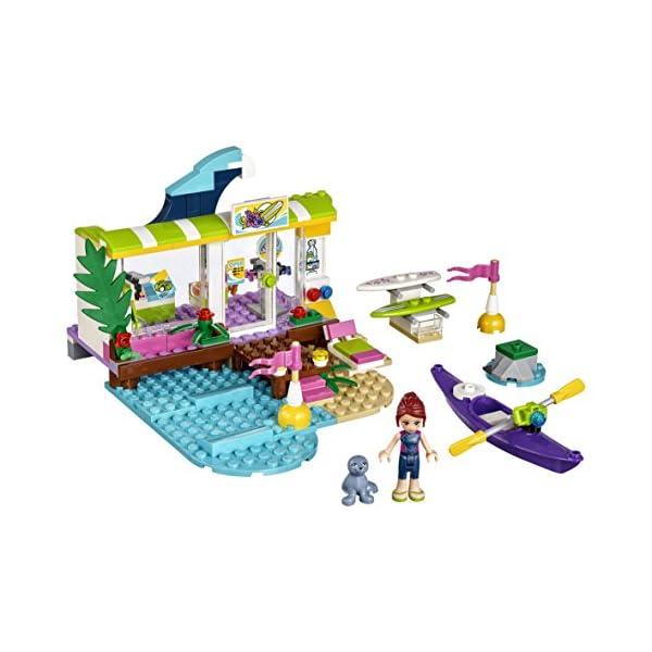 LEGO-Friends Il Surf Shop di Heartlake, Multicolore, 41315 2 spesavip