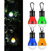 LED da Campeggio,Resistente Esterno LED Lampada Portatile Lanterna da Campeggio 4 Pezzi,Hovast Luce Illuminazione Chiara l'escursionismo, la Pesca, la Caccia, il Backpacking, le Attività di Alpinismo