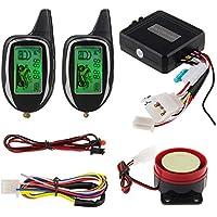 Easyguard em208 – 2 2 way LCD pantalla motocicleta sistema de alarma con mando a distancia