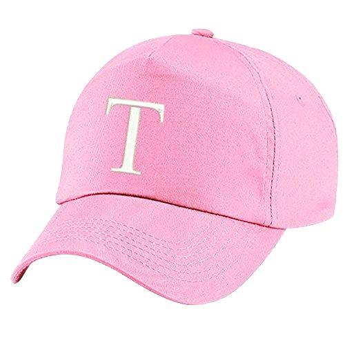 d50954e70115 4sold Unisex Bindemütze Babymütze Jungen Mädchen Mütze Baseball Cap Rosa  Hut Kinder Kappe Alphabet A-Z (