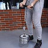 Poulie 1pcs poulie Simple en Acier Inoxydable 304 M25 pivotant poulie Rouleau de Chargement 300kg - Argent
