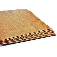 15–17furniere en el tipo de madera cerezo. Chapa Adecuado para: Modelo Recubrimiento de diseño, trabajar, Restauración, manualidades, marquetería