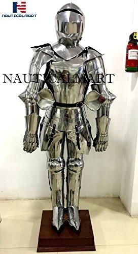 Usado, Traje de caballero medieval para Halloween, disfraz segunda mano  Se entrega en toda España