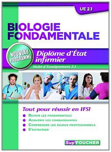 Biologie fondamentale Diplôme d'état infirmier Nouveau programme