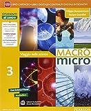 Macromicro. Viaggio nelle scienze. Per la Scuola media. Con e-book. Con espansione online: 3
