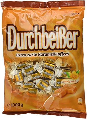 Durchbeisser Karamell - Weiches Toffee mit Karamellgeschmack - Leckere Karamellbonbons zum Naschen - (5 x 1 kg Beutel)