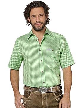Trachtenhemd Karo Renko2 – fesches Hemd für charmante Männer, die Trachtenmode und Trachten schätzen, kariertes...