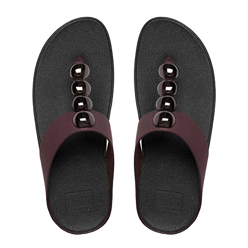 FitFlop Rola, Tongs Femme, Various Hot Cherry