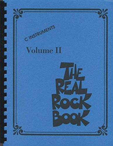 The Real Rock Book Volume 2: Songbook für Instrument(e) in c -