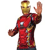 Kit disfraz de Iron Man Capitán América Civil War para hombre