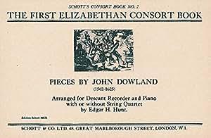 The First Elizabethan Consort Book - flûte à bec soprano et piano, quatuor à cordes ad lib. - Partition - ED 10032