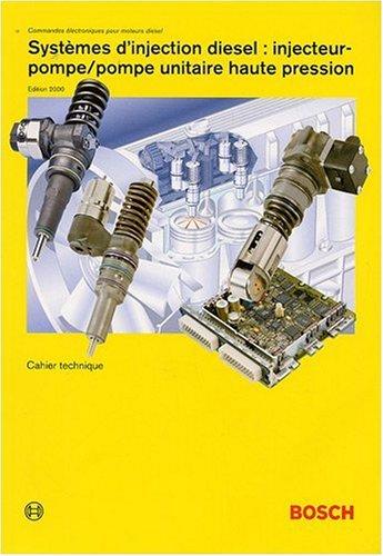Systèmes d'injection diesel Injecteur-pompe/Pompe unitaire haute pression par Horst Bauer