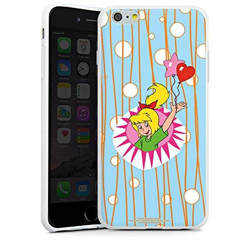 Apple iPhone X Silikon Hülle Case Schutzhülle Bibi Blocksberg Fanartikel Merchandise Hexenparty Silikon Case weiß