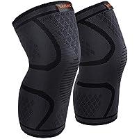 EKKONG Knieschoner Fitness, 1 Paar Knieschützer kniebandage männer Sport für Knieschaden verhindern