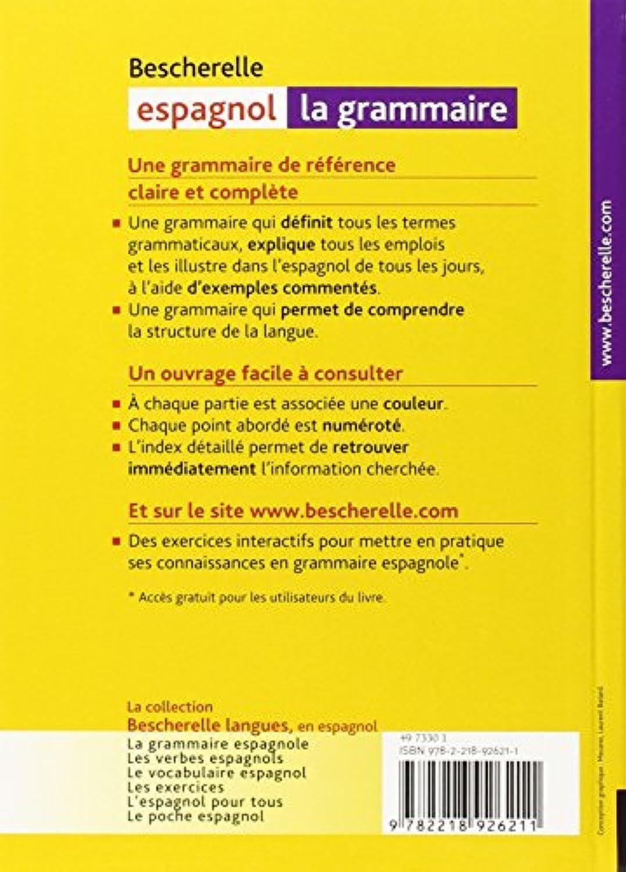 Grammar Les Verbes Bescherelle Espagnol Books Demenager Tn