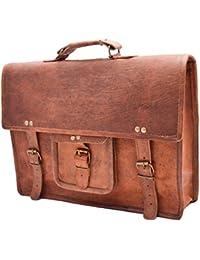 Mk Bags Vintage Bags Genuine Leather Messenger Bag Cum Office Bag 55