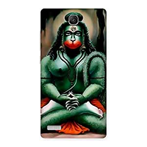 Stylish Jai Hanuman Multicolor Back Case Cover for Redmi Note Prime