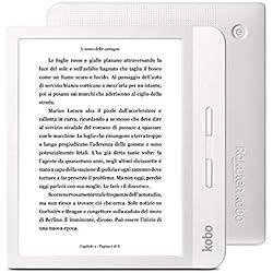 Rakuten Kobo Libra H2O Liseuse Écran tactile 8 Go Wifi Blanc
