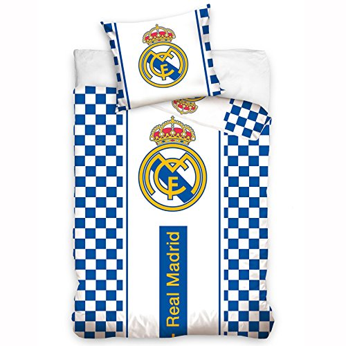 Real Madrid Bettwäsche-Set 140x200cm (Druck-waschmaschine-trockner)