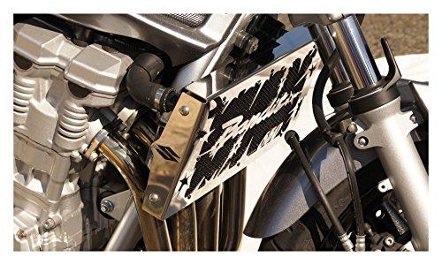 YGQersh 1 Paire Gauche Droite Moto Universelle Chrome cr/âne Mains r/étroviseurs lat/éraux