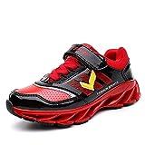 ASHION Scarpe da Ginnastica Bambino Scarpe Sportive Outdoor Bambina Running  Sneakers Fitness Interior Casual all Aperto (rosso 8c2b279e1b2