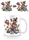 Super Mario Odyssey cap Montage Tazza di caffè, Ceramica, 7.9x 11x 9.3cm