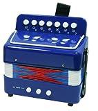 New Classic Toys - 2042840 - Instrument À Vent - Accordéon En Bleu