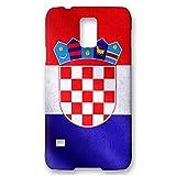 atFolix Samsung Galaxy S5 Neo (G903F) Hülle - Kroatien Flagge FX-Case Schutzhülle