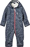 NAME IT Baby Softshelloverall Wagenanzug NBNBeta, Farbe:Dress Blues, Größe:74-80